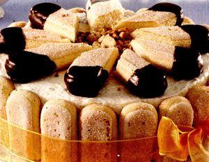 Tort delicios cu piscoturi