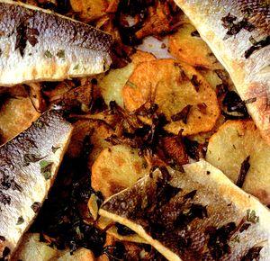 Biban_cu_ciuperci_cartofi_si_salata_verde
