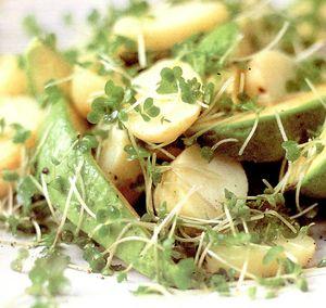 Salata de cartofi cu tarhon si marar