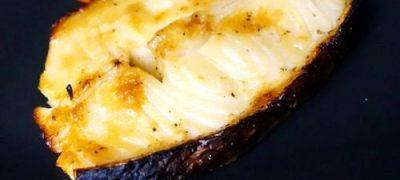 Peste alb cu cartofi si mustar