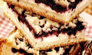Prajitura cu dulceata si alune