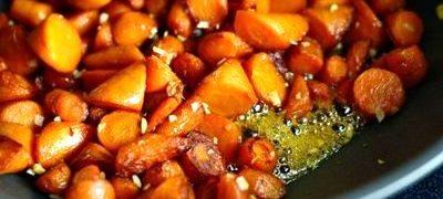 Mancare de morcovi (sote)