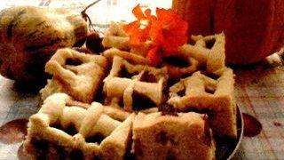 Prajitura cu iaurt prune si scortisoara