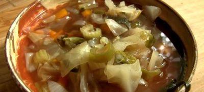 Supa de varza shchi