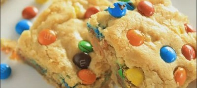 How to make M&M Blondies