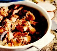 Mancarica de porc cu ciuperci