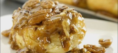 How to make Caramel Pecan Cinnamon Rolls