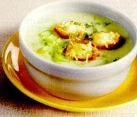 Supa-crema de ceapa cu verdeata