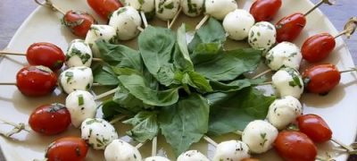 How to Make Caprese Appetizer