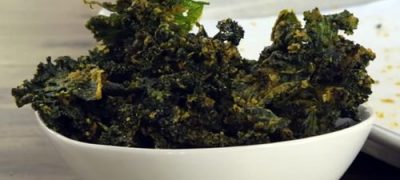 How to Make Cheesy Kale Chips