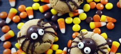 How to Make Peanut Butter Spider Cookies