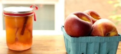 How to Make Pickled Peaches