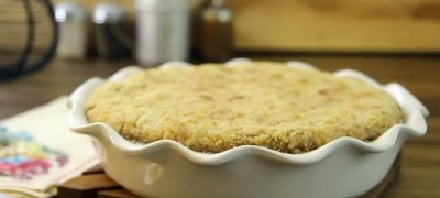 How to Make Sour Cream Pear Pie