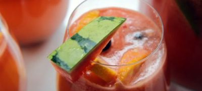 How to Make Watermelon Sangria