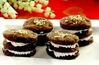 Rondele crocante de ciocolata