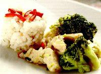 Tocanita de pui cu broccoli