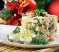 Salata rustica cu maioneza