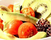 Salata de avocado cu ciuperci