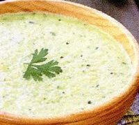 Supa de dovlecei cu curry
