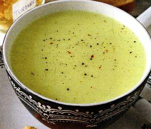 Supa din piure de telina