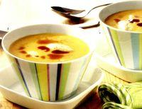 Supa de dovleac cu galuste