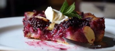 How to Make Blackberry & Almond Buckle