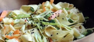 How to Make Yuba Noodle Salad