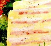 Terina de cascaval cu carne de pui