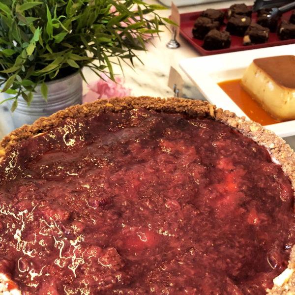 FOTO 10 - Cheesecake de Frutas Vermelhas