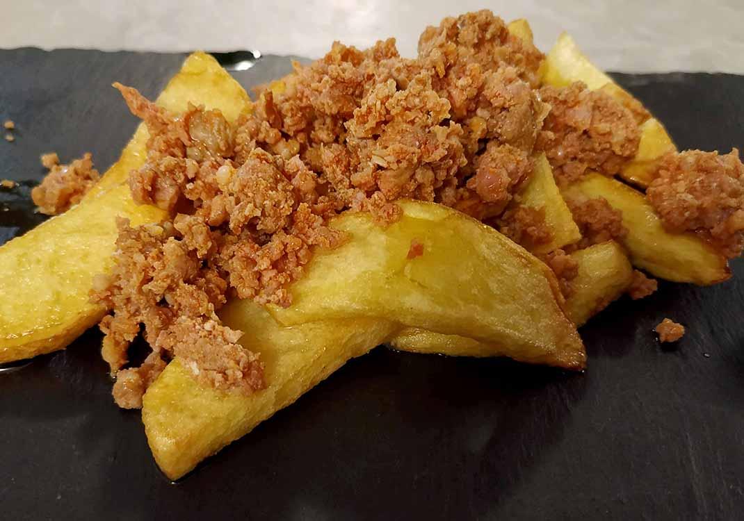 prueba matancera con patatas