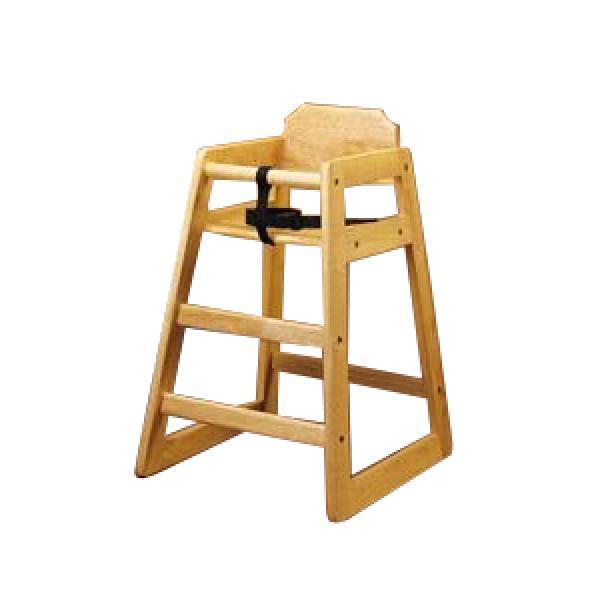 high chair restaurant strandmon wing natural finish highchair assembled equipment solutions