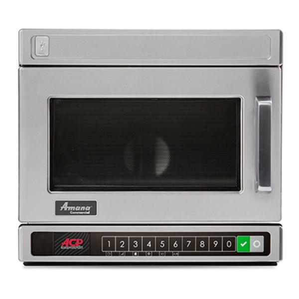 amana r commercial mdc y microwave oven lower keypad countertop compact 1800 watts 0 6 cu ft restaurant equipment solutions