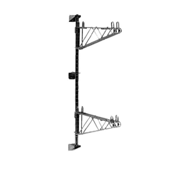 Post & Mounting Brackets, for Super Erecta wall mount