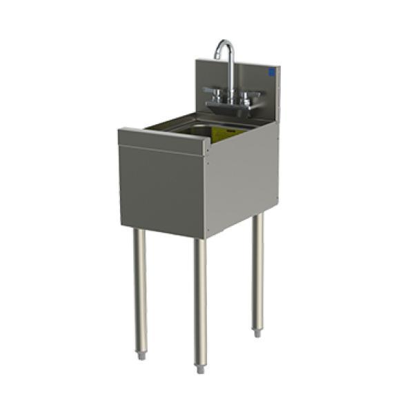 tsd series underbar hand sink unit free standing 12 w x 24 d restaurant equipment solutions
