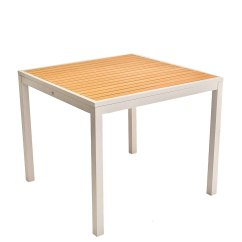 Biz Chair Com Eero Aarnio Ball Faux Teak Inlay Aluminum Table Stiat Restaurant Furniture From Click Here To View Full Size