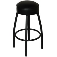 Backless Metal Swivel Restaurant Bar Stool