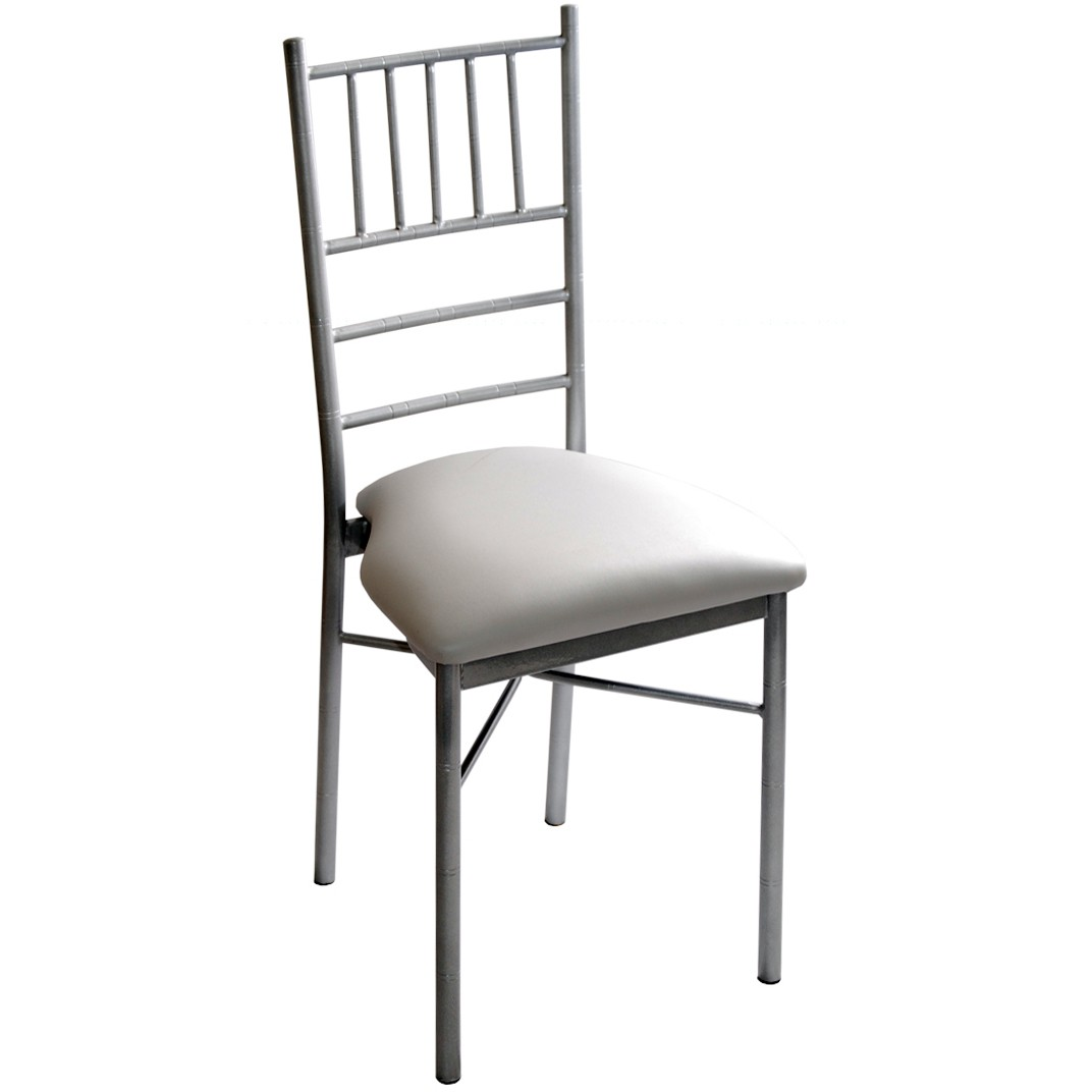 white metal and wood chairs wooden circle chair with cushion chiavari ballroom
