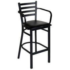 Bar Chairs With Arms And Backs Swing Chair Mitre 10 Ladder Back Metal Stool