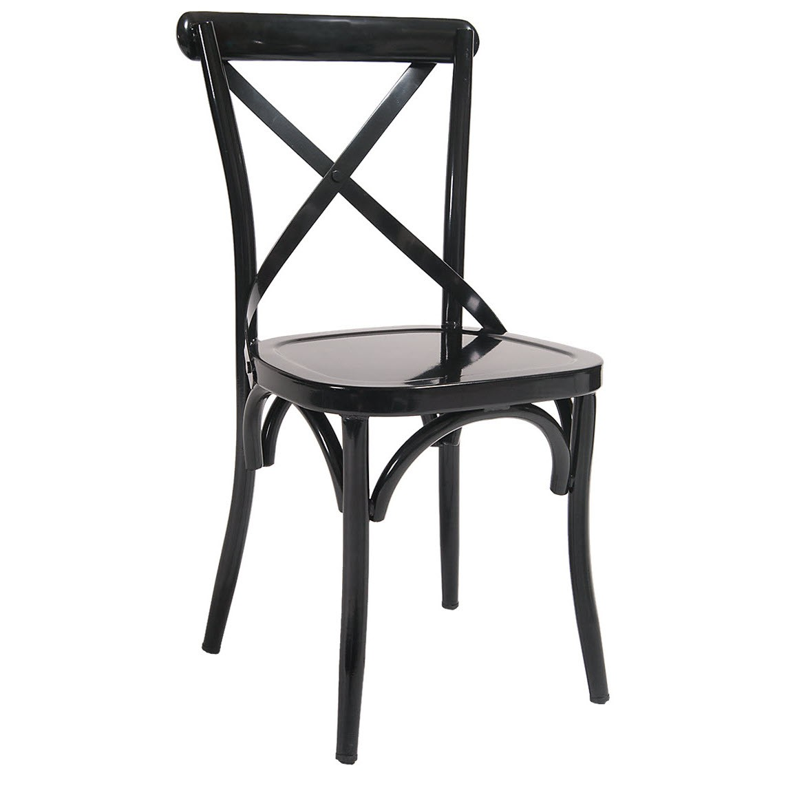 metal restaurant chairs hon invitation guest chair classic x back