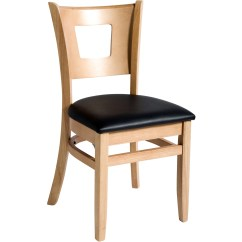 Commercial Restaurant Chairs Chair Pads Non Slip Grade Duna Wood