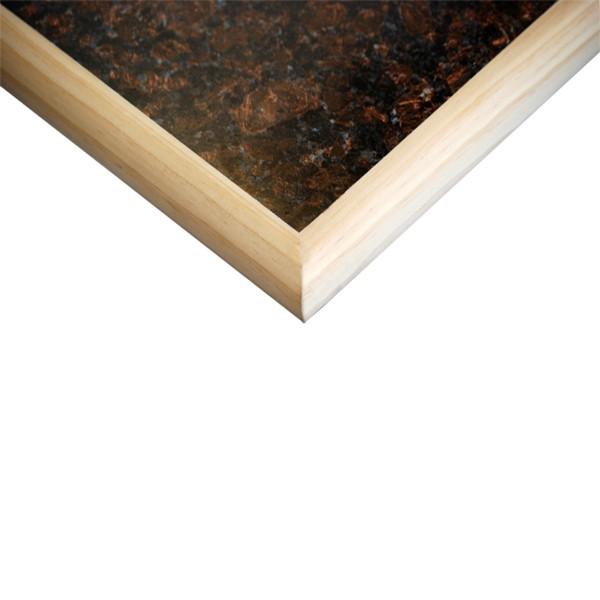Laminate Overlay and Wood Edge