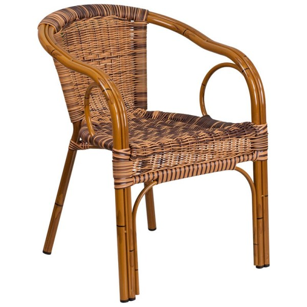 Bamboo Patio Chair Aluminum