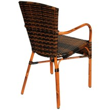Faux Wicker Patio Chairs