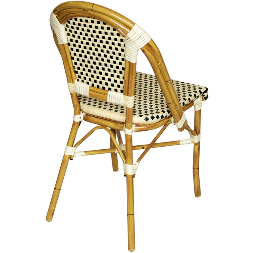 Aluminum Bamboo Chair for Patio
