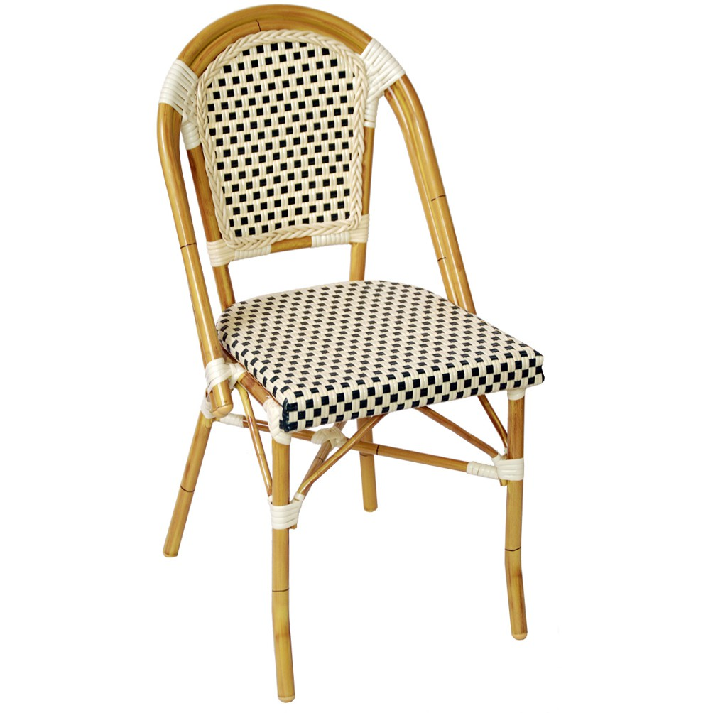 bamboo outdoor chairs monogrammed beach sale aluminum chair for patio