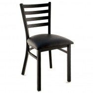 white metal chairs black leather chair and ottoman restaurant shop commercial from only 27 99