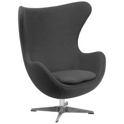 Egg Chair Cover For Sale Rental Austin Gray Wool Fabric Zb 18 Gg Restaurantfurniture4less Com Our With Tilt Lock Mechanism Is On Now