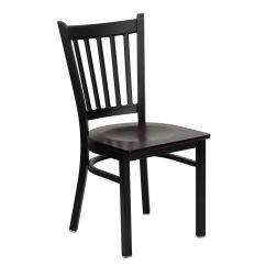 Restaurant Chairs For Less Folding Chair Vinyl Padded Black Vert Mah Seat Bfdh 88398mwtrv Tdr