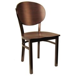Restaurant Chairs For Less Custom Office Round Back Metal Chair 6185 Restaurantfurniture4less