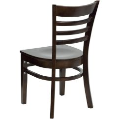Restaurant Chairs For Less Purple High Chair Walnut Wood Dining Bfdh 8241ww Tdr